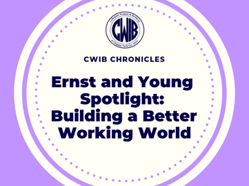 Ernst and Young Spotlight: Building a Better Working World