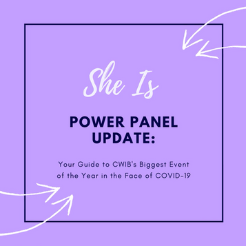 Power Panel Update: Your Guide to CWIB's Biggest Event of the Year in the Face of COVID-19