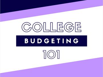 College Budgeting 101