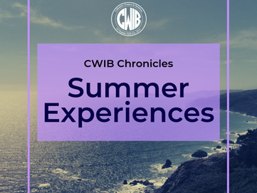 Summer Experiences: What Members Learned Through their Internships