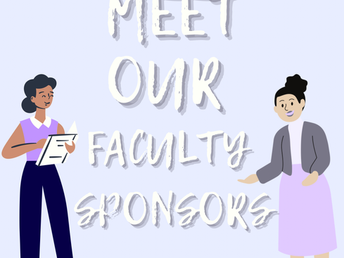 Meet Our Faculty Sponsors