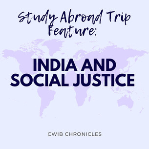 Study Abroad Feature: India and Social Justice