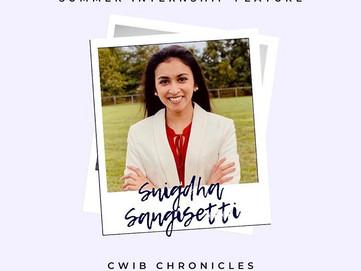 Summer Internship Feature: Snigdha Sangisetti