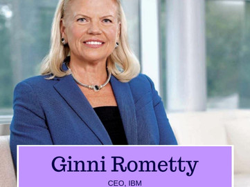Ginni Rometty: A Pioneering Force for Women in Business