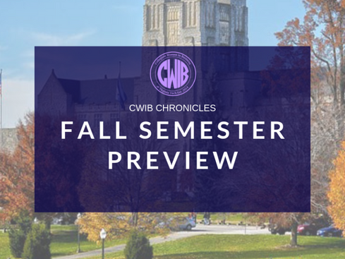 CWIB Fall 2019 Preview