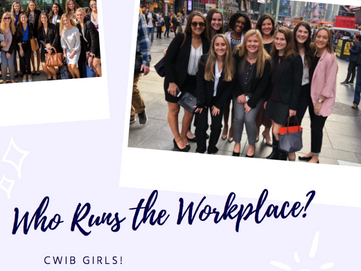 Who Runs the Workplace? CWIB Girls!