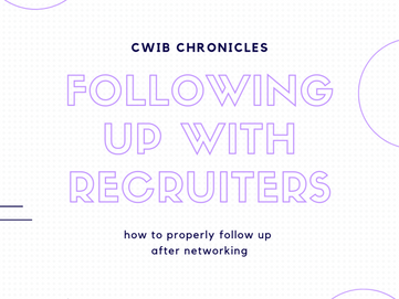 Following Up with Recruiters