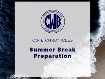 Summer Break Preparation