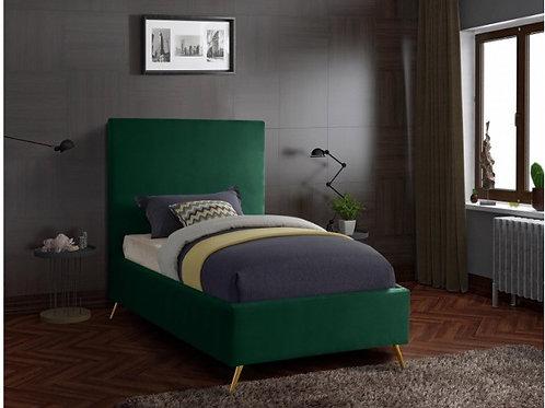 Jasmine Velvet Twin Bed