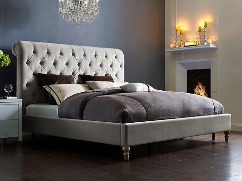 Putnam Velvet Bed (Queen)