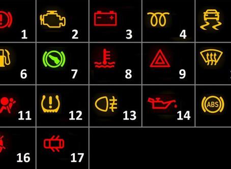 Luzes de avaria: sabe o que significam?