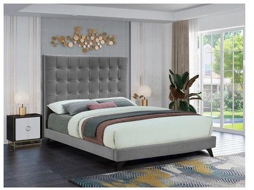 Elly Velvet Bed (King)