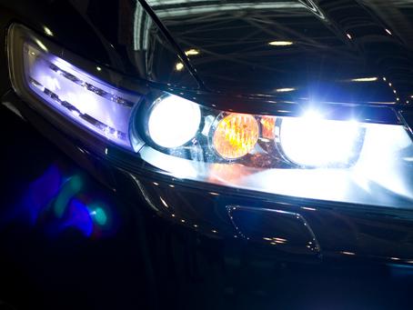 Ver e ser visto...tipos de lâmpadas para automóveis.
