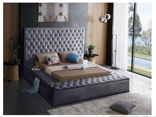 Bliss Velvet Bed (King)