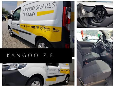 Estamos mais ecológicos com a aquisição da Kangoo Z.E.!