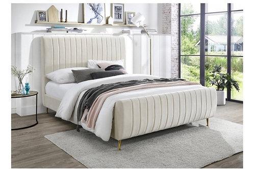 Zara Velvet Bed (Queen)