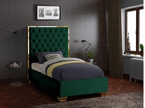 Lana Velvet Twin Bed