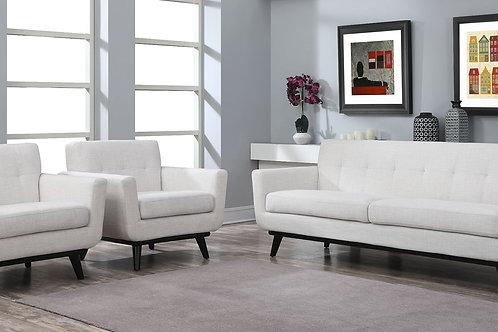 James  Linen Sofa