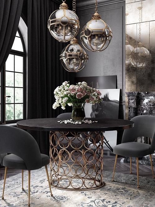 Valentina Brass Round Table