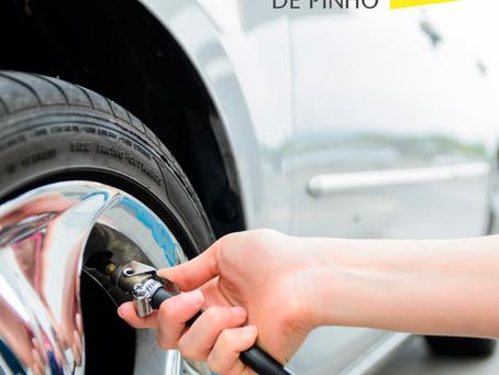Pressão dos pneus em dia?