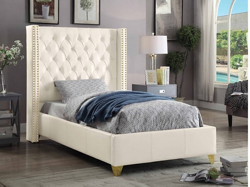 Soho Leather Twin Bed