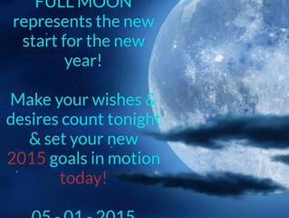 January 5th Full Moon Energy