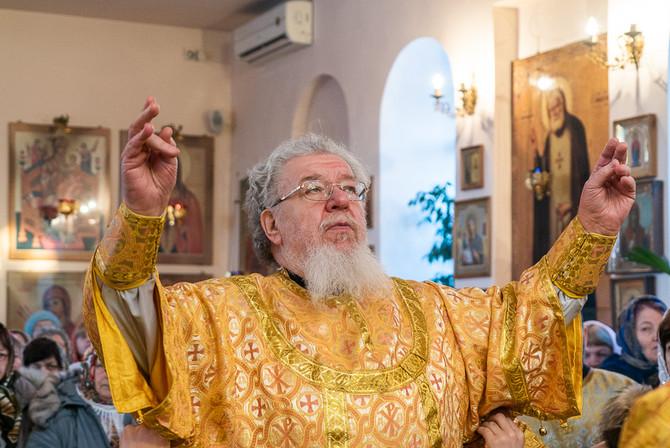 Правящий Архиерей возглавил торжественное богослужение