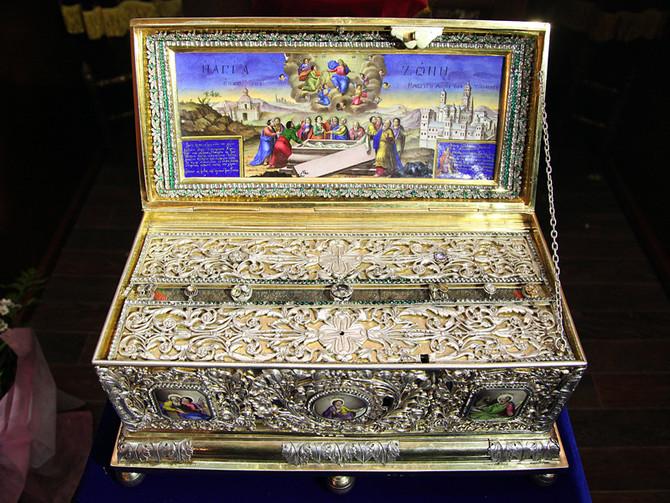 В Воронеж прибывает святыня – ковчег с частью Пояса Пресвятой Богородицы