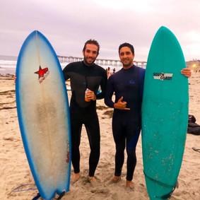 Surfing La Jolla Shores