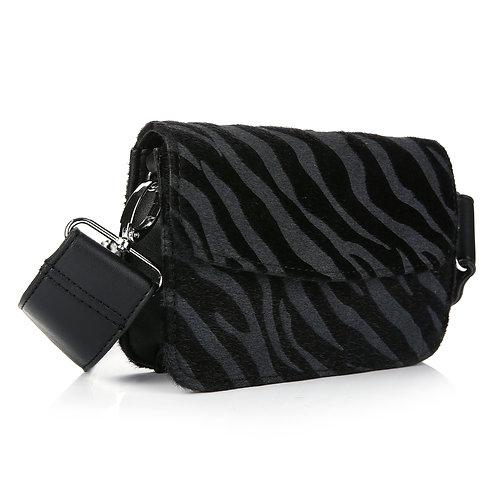 luna zebra tas | Zwart