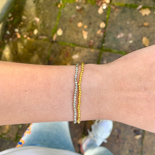 Basic gold armbandje