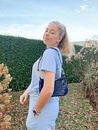 Nikkie schoudertas | Donkerblauw