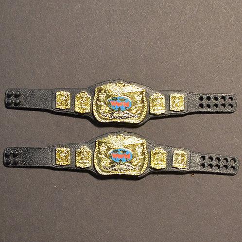 Mattel WWF Tag Team Belts