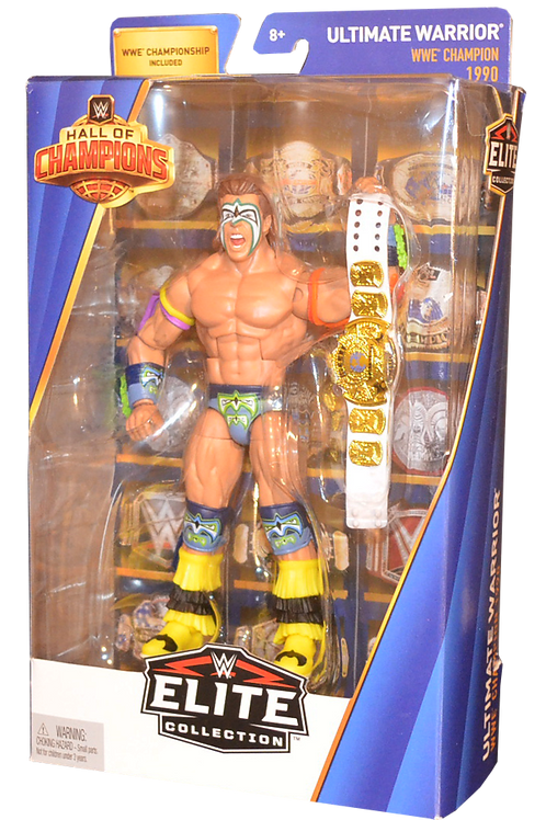 Ultimate Warrior Hall of Champions Elite Target Exclusive