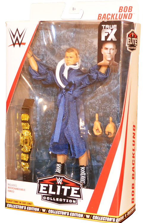 Elite 63 Collector's Edition Bob Backlund