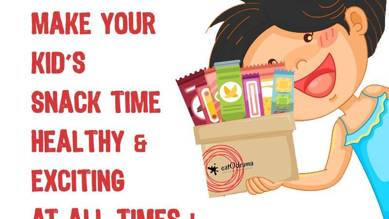 EatODrama Kids Box - Snacks for Children