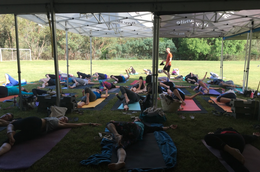 Summer's End Yoga Festival, Canberra