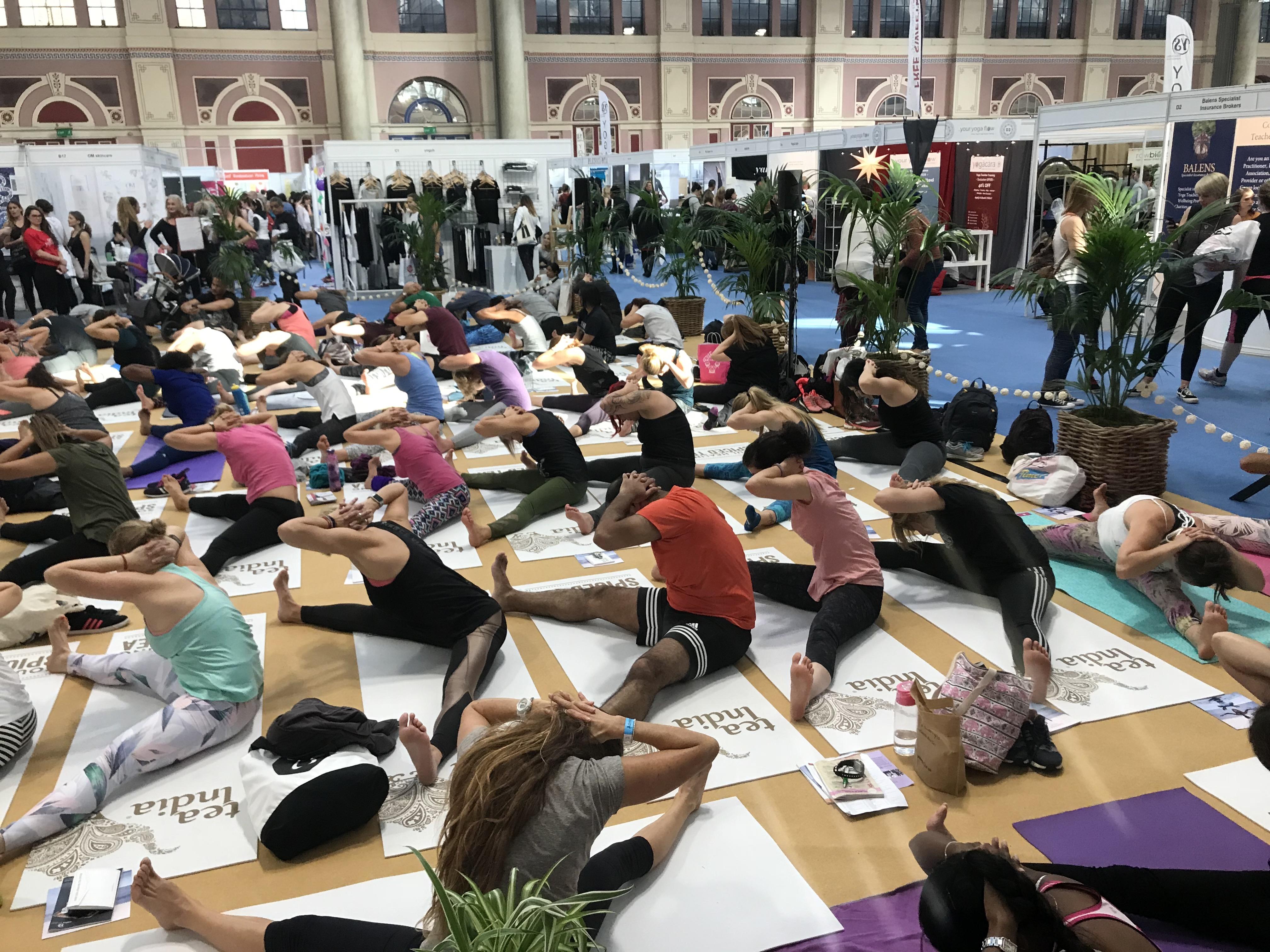 Om Yoga Show, London '18