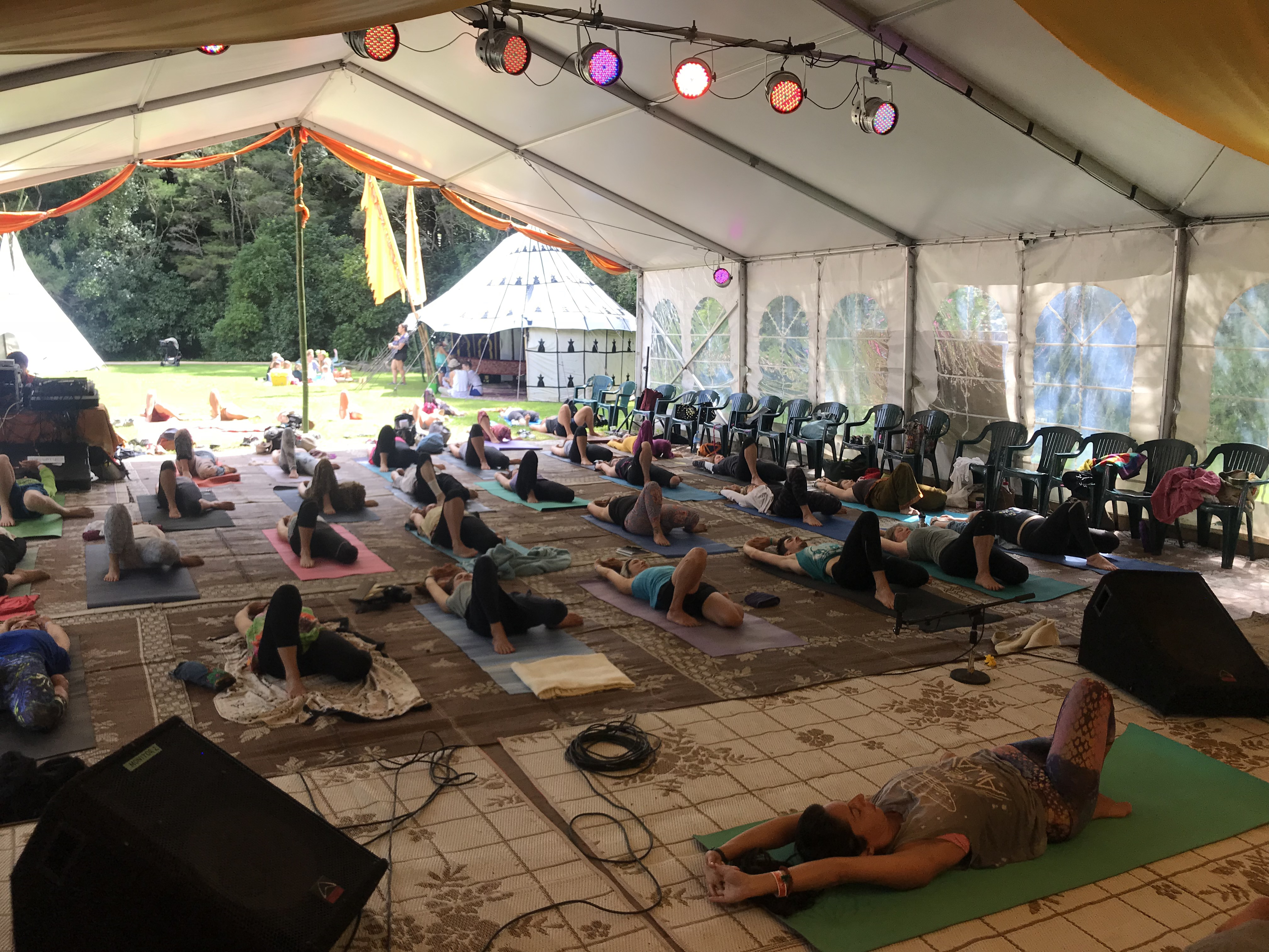 Int. Yoga Festival - Auckland, NZ