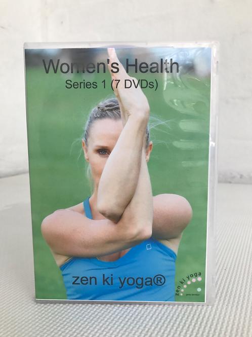 Women's Health DVD Series - 7 classes