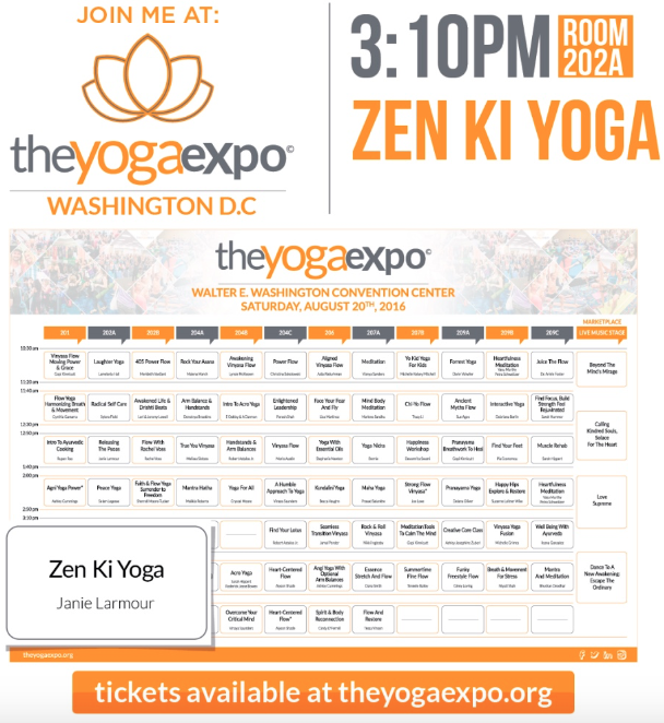 The Yoga Expo, Washington DC