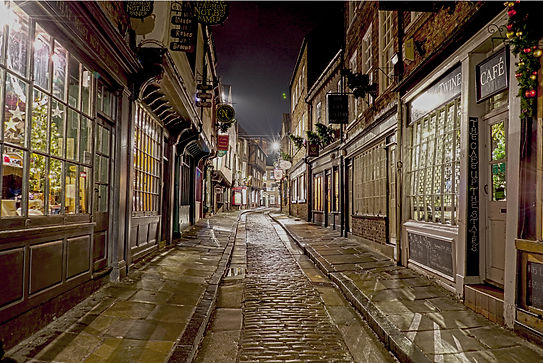 shambles York 2018 christmas eve