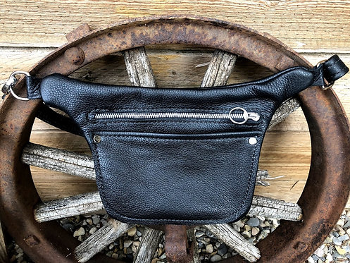 Leather Hip or Crossbody Bag