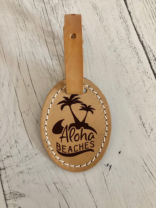 Luggage Tag -Aloha Beaches