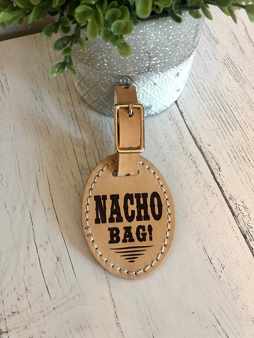 Luggage Tag - Nacho Bag