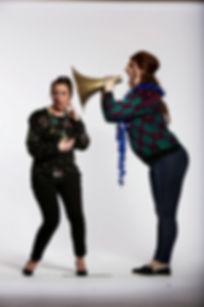Deborah Wise & Camilla Whitehill - Save the Children Christmas Jumper Campaign