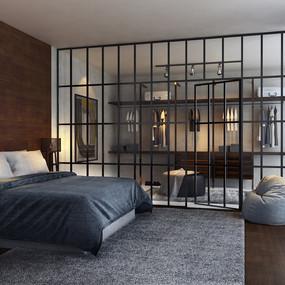 Rustic Master Bedroom - YK