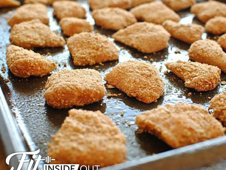 Easy Baked Chicken Nuggets