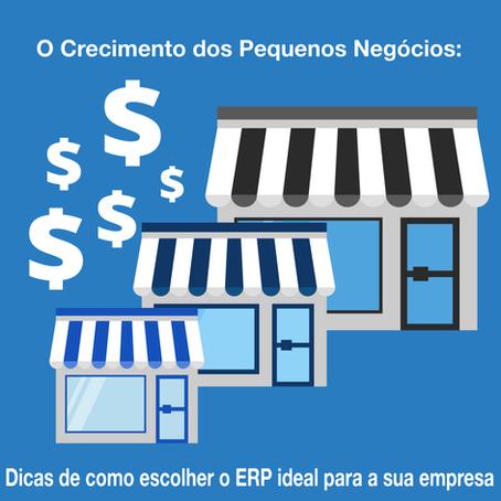 O Crescimento dos Pequenos Negócios: como escolher o ERP ideal para minha empresa! [EBOOK GRATUITO]