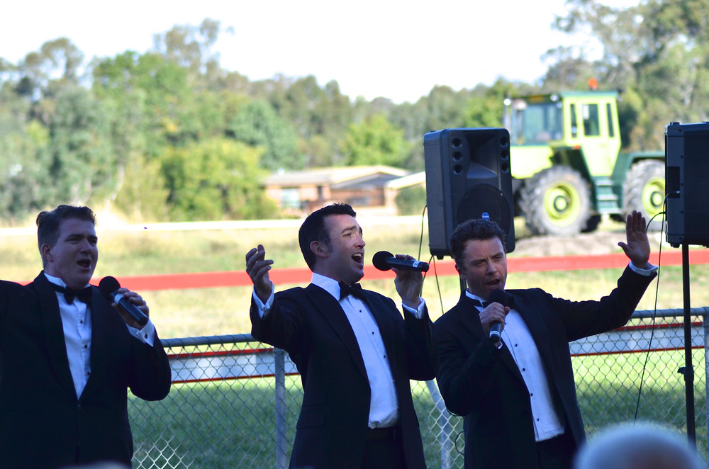 Tenors on the Turf @ Mansfield Racing Club
